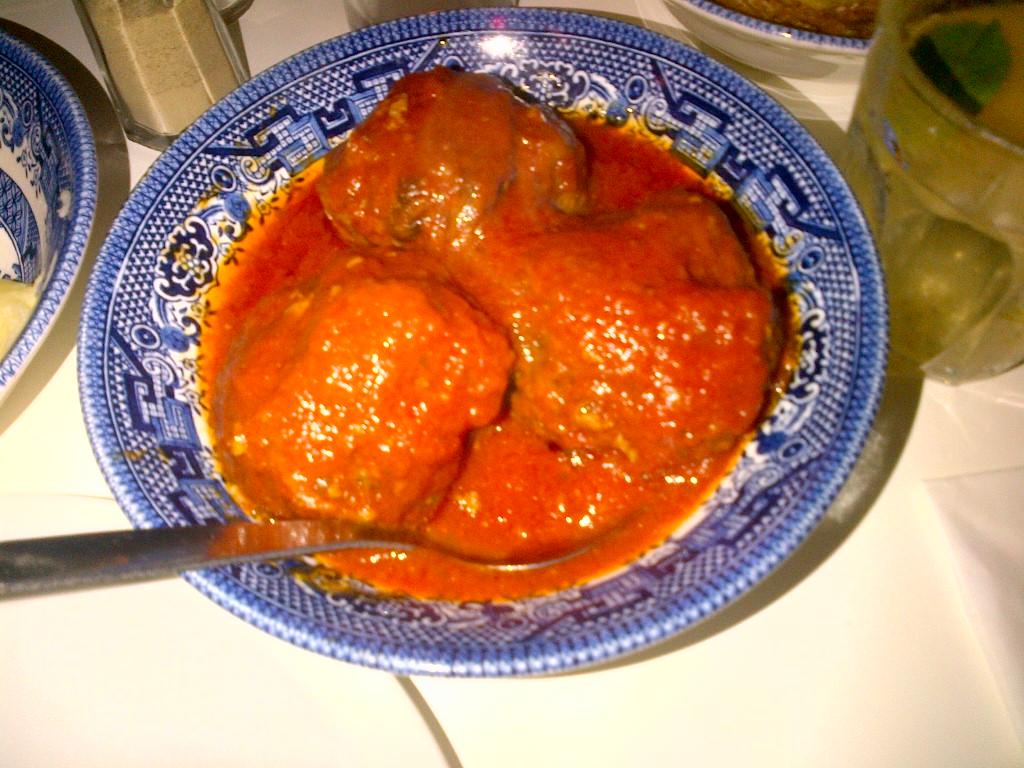 Lamb & pistachio Meatballs