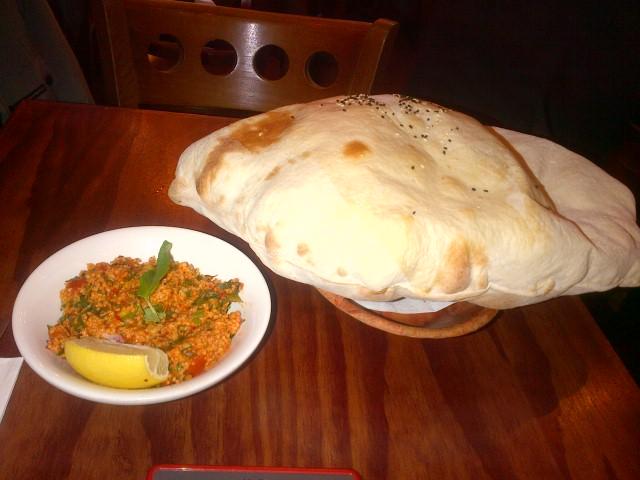 Kisir & Bread