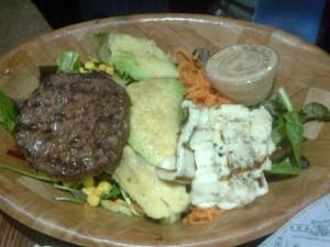 Avacado Hamburger Salad