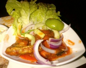 Hot 'n' spicy chicken wings