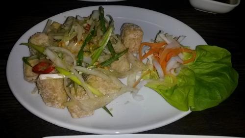 Chilli & Garlic Tofu