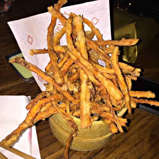 Sweet Potato and Soba-Ko Fries with Sauces